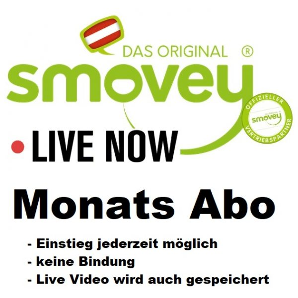 Smovey Live Training Monats Abo