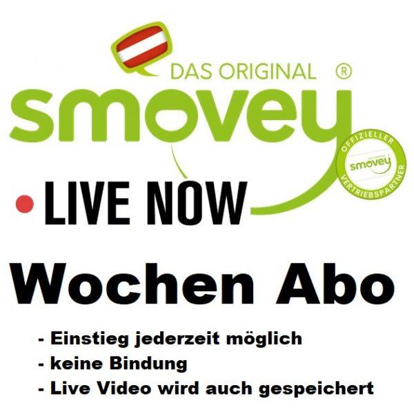 Smovey Live Training Wochen Abo